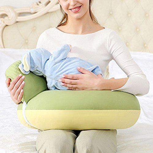 GQY Fütterung Kissen Fütterung Artefakt Stillen Kissen Taille Stuhl Neugeborenen sitzen Monat Anti-Spucken Milch-Pad halten Kind Baby horizontale Bank (Farbe : C)