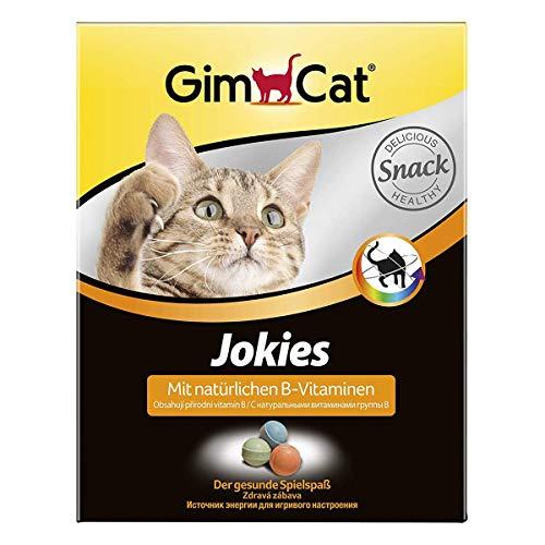 GimCat Jokies – functionele lekkerli met natuurlijke B-vitaminen voor gezond speelplezier, 1 x 520 g