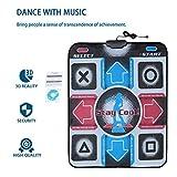 Longspeed rutschfeste haltbare verschleißfeste Tanzschritt-Tanzmatte Pad Pads Tänzer Decke zum PC mit USB für Bodybuilding Fitness - Multicolor