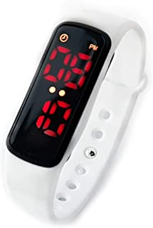 Potty Training Watch for Girls and Boys -Kids Reminder, Toilet Trainer Alarm Watches for Toddler,Rechargeable,Water Resistant,Potty Trainer Alarm/Timer & Bathroom Training for Baby (White)