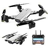 CPH20 RC Toys Loisirs SG700-D FPV RC Drone avec caméra HD Grand 4K Jeux et Jouets (Couleur : Blanc)