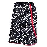 Xmiral Uomo Pantaloni Corta Boxer Calzoncini da Bagno Swim Trunk Boxer Mare Pantaloncini Sportivi Sportivi Shorts (3XL,3Nero)
