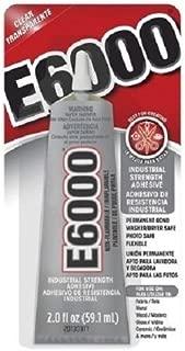 E6000 Industrial Adhesive Medium Viscosity Clear 2 oz.
