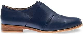 Women's Olive Slip-On Loafer, Teal Leather, 7 M US