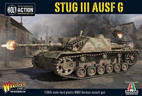 Stug III Ausf G – Bolt Action 1/56:e skala tankmodell – 28 mm miniatyrer – WWII tyska armén