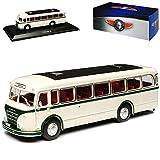 IFA H6 B Omni Bus Weiss mit Sockel 1/72 Atlas Modell Auto