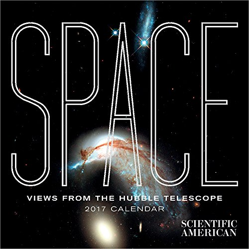 Space: Views from the Hubble Telescope 2017 Mini Wall Calendar