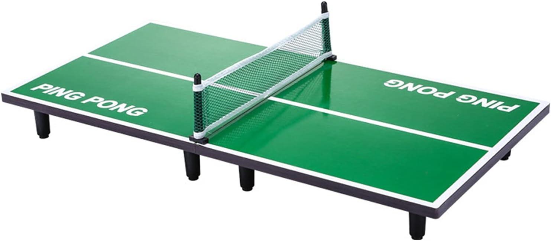 Mesa De Ping-Pong Plegable Pequeña, Juego De Tenis De Mesa Interactivo Familiar Entre Padres E Hijos, Mini Mesa De Ping Pong (Size : 90x40x6.5cm)