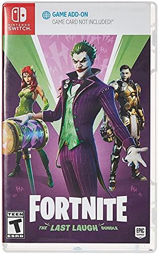 Fortnite: The Last Laugh Bundle - Nintendo Switch [Code in Box]