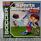 CD ROM Sports Illustrated Kids Soccer Game 2--New Sealed --Wendy s Kids Meal 2009