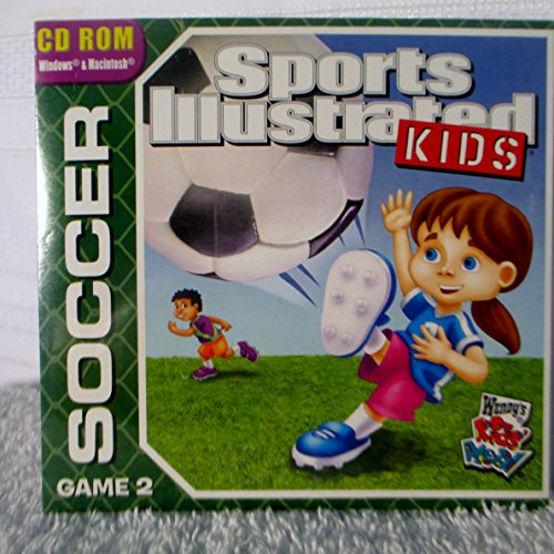 CD ROM Sports Illustrated Kids Soccer Game 2--New Sealed --Wendy's Kids Meal 2009