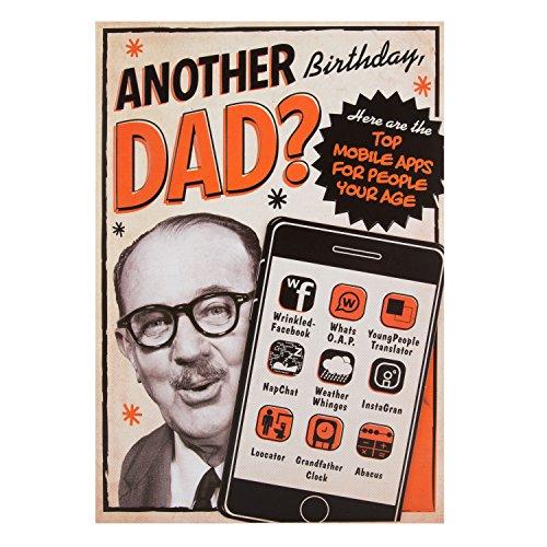 Hallmark-Geburtstagskarte für den Vater
