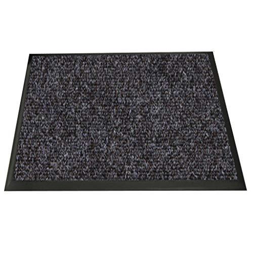 LIMING-alfombra Felpudo Resistente Y Antideslizante,Felpudo Antisuciedad Sky,Color Café (Size : 90cm*60cm)