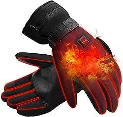 Fogun Electric Heated Gloves for Men Women Waterproof insulated electric heating gloves for winter outdoor
