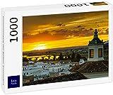 Lais Puzzle Atardecer sobre Badajoz, Extremadura 1000 Piezas