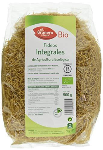 Granero Fideos Integrales de Agricultura Ecológica - 500 gr