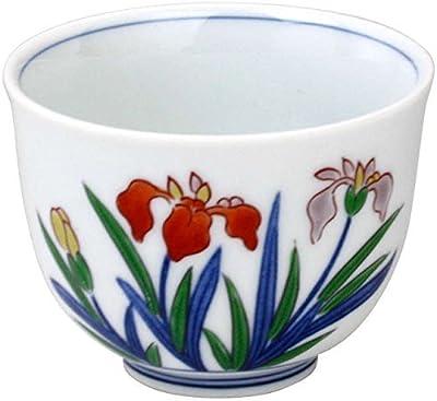 ランチャン(Ranchant) 2個セット 小仙茶 マルチ 1802-275534/Φ8x6cm しょうぶ 有田焼 日本製