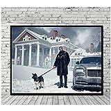 w15y8 Drake Poster Leinwand Malerei Druck Wandkunst Home