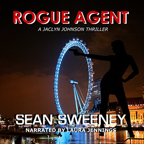 Rogue Agent audiobook cover art