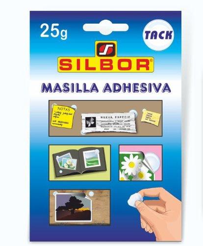 Silbor - Masilla adhesiva TACK 25gr.