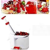 Super novità Cherry Pitter Pietra Corer Macchina di Rimozione della Ciliegia Corer con Contenitore da Cucina Gadget Strumento