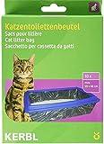 Kerbl 84215 Beutel für Katzentoiletten XL 59 x 46 cm, 10er-Pack Katzenklobeutel