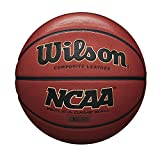 Wilson NCAA Replica Game Basketball - Brown, Official - 29.5'
