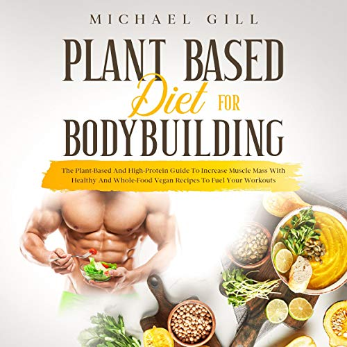 『Plant Based Diet for Bodybuilding』のカバーアート