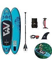 Stand Up Paddle Boards Kayak para adultos - Barco de tabla de surf SUP inflable para principiantes, con remo ajustable,bomba aire,mochila,aleta inserción,kits cuerdas para los pies - 300 x 76 x 12 cm