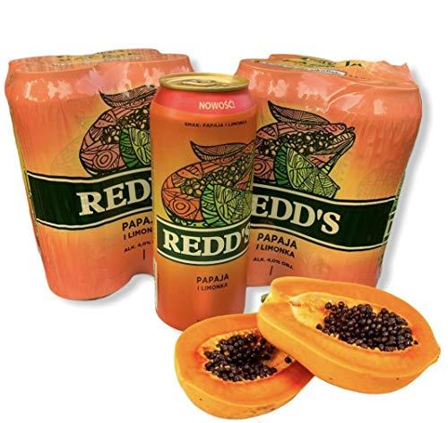 Große Dose 500ml! Redd's Papaya Bier 8 Dosen Beer