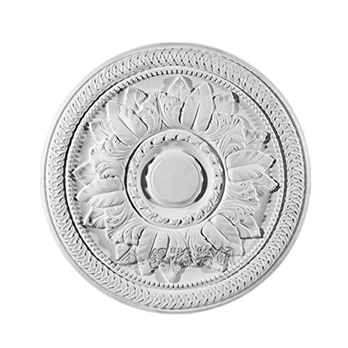 Medallón de techo de yeso decorativo, 20 años de fábrica