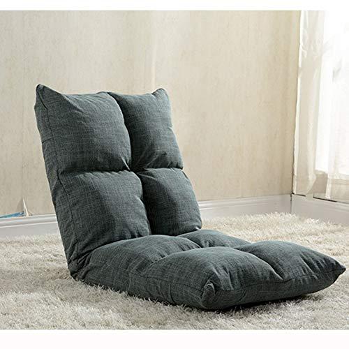 AiHerb.LO JL HX Japonais Canapé Paresseux Tatami Pliable Simple Petit Canapé-lit Chaise D'ordinateur Dortoir Baie Fenêtre Chaise A+ (Couleur : C)