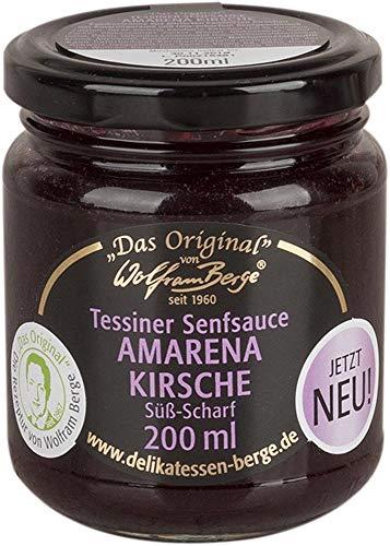 Original Tessiner Senfsauce Amarena Kirsche 200ml