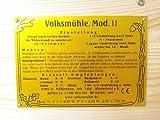Getreidemühle WIDU Volksmühle Modell II aus Holz - 9