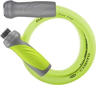Flexzilla Garden Lead-in Hose with SwivelGrip, 5/8 in. x 3 ft., Heavy Duty, Lightweight, Drinking Water Safe - HFZG503YWS