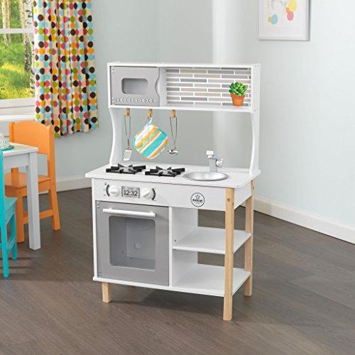 KidKraft 53379Küche und Essen Etui-Rollenspiel Rollenspiel Spielzeug–Spielset für Kinder Küche und Essen, Koffer-Set, 3Jahr (E), Kind, Kinder/Mädchen, Mehrfarbig