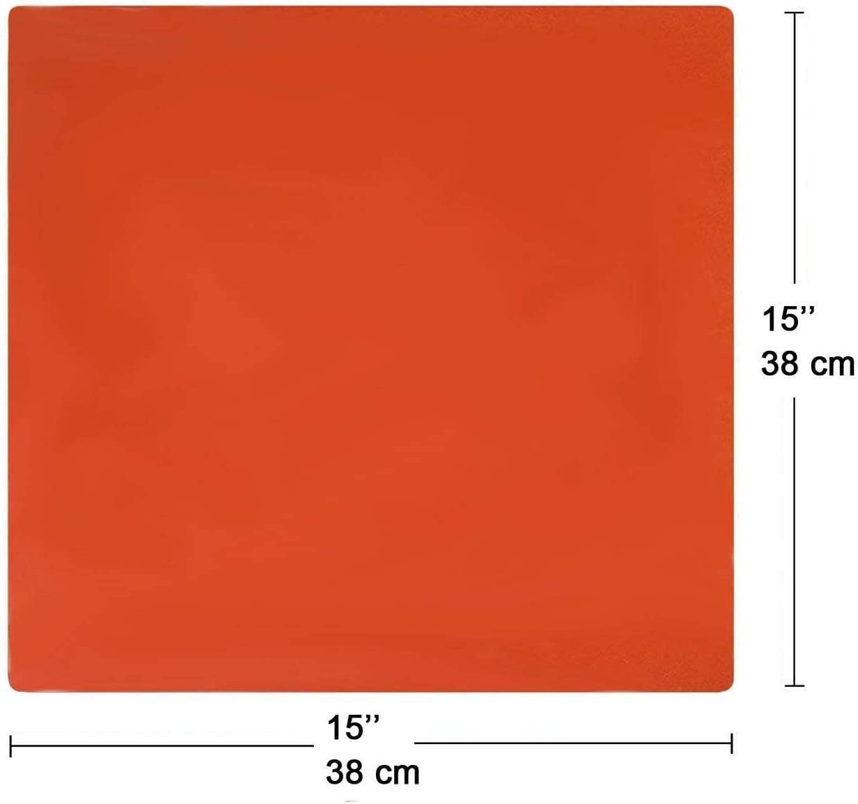 Yengsen Heat Press Pad Mat 0.3 Thickest Silicone Pad for Heat Press Machine Flat Heat Transfer Press Replacement Pad 12x15Inch