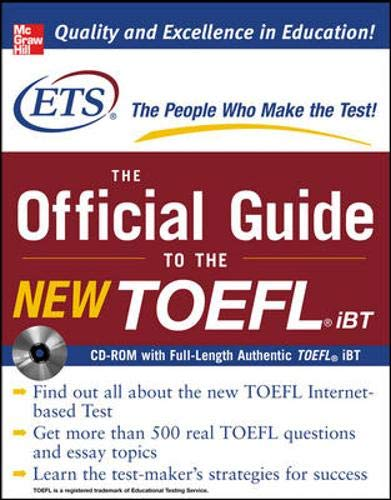 The Official Guide to the New TOEFL iBT, w. CD-ROM