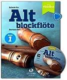 Escuela para flauta vieja banda 1 – Escuela de flautas para jóvenes y adultos con CD y pinza para partituras