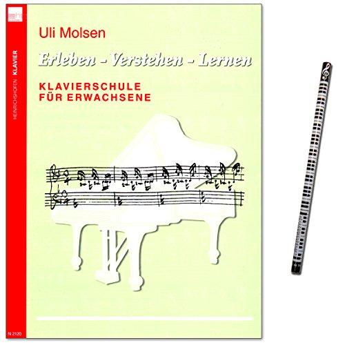 Klavierschule für Erwachsene von Uli Molsen - Erleben - Verstehen - Lernen - Lehrwerk mit Musikbleistift - N2120 9783938202166