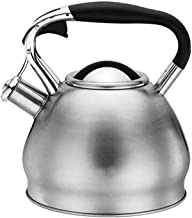 Kettle 3Lmodern Whistling Stovetop, Teapot, 304 Stainless Steel, Anti-scalding Handle, Large Diameter Home Camping