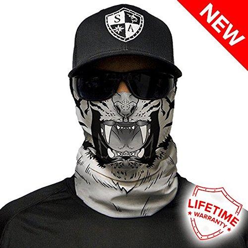 SA Company Tiger Design Face Shield - meerkleurig, één maat