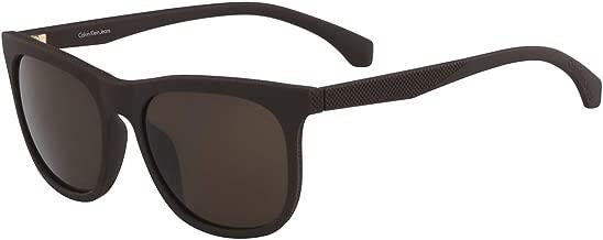 نظارة شمسية للجنسين من كالفن كلاين - بني , CKJ818S-256