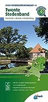 Twente Stedenband (Enschede / Almelo / Hardenberg) 1:100 000: Fietsknooppenuntenkaarten