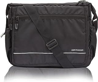 Dein Kleider Polyester Sling Cross Body Travel Office Business Messenger one Side Shoulder Bag for Men and Women