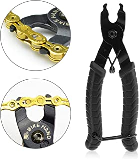 Bike Chain Pliers, Hamkaw Professional Bicycle Chain Breaker Missing Link Opener Closer Remover, Quick & Easy Master Link Cassette Pliers - All Speed Chains for Road Mountain Bike Park Tool