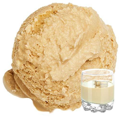 1 Kg Baileys Irish Cream Geschmack Eispulver VEGAN - OHNE ZUCKER - LAKTOSEFREI - GLUTENFREI - FETTARM, auch für Diabetiker Milcheis Softeispulver Speiseeispulver Gino Gelati
