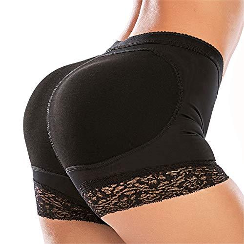 Dulchany Women Butt Lifter Shapewear Padded Hip Enhancer Control Panty Body Shaper Seamless Lace Booty Shaper
