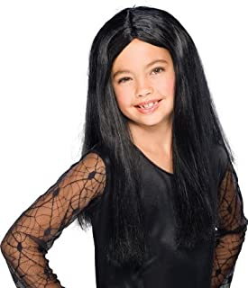 Rubies Girls Black Witch Wig