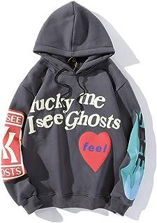 AvivahcS Kanye Lucky Me I See Ghosts Sweatshirt Hip Hop trui voor dames en heren